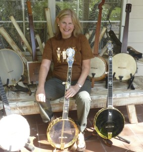 Mary Z. Cox and her Banjo Sampler