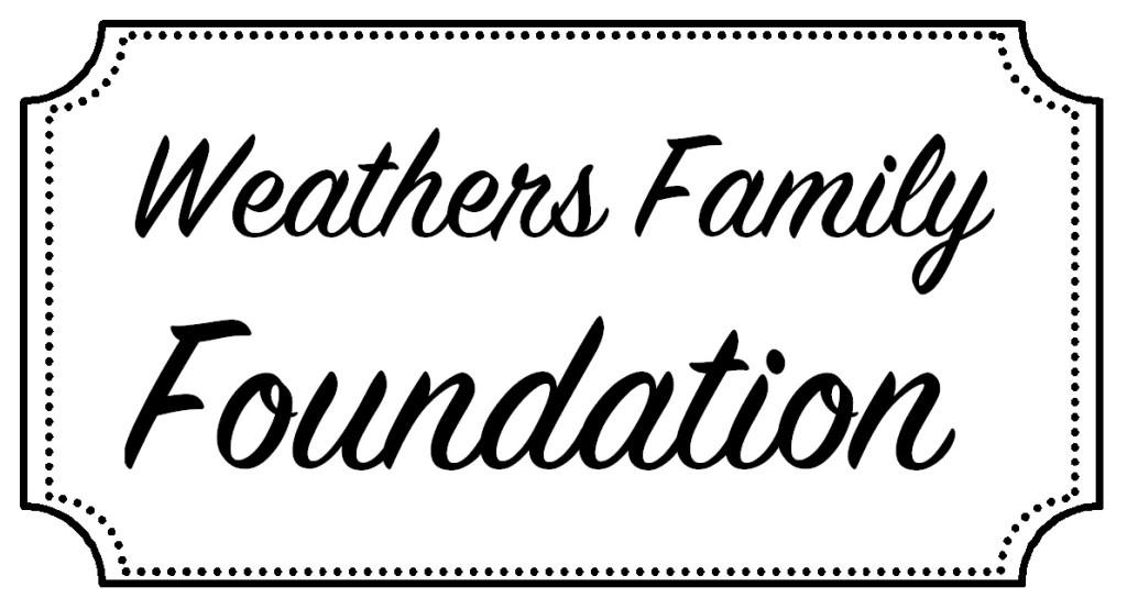weathers family foundation logo