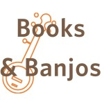 Books and Banjos logo